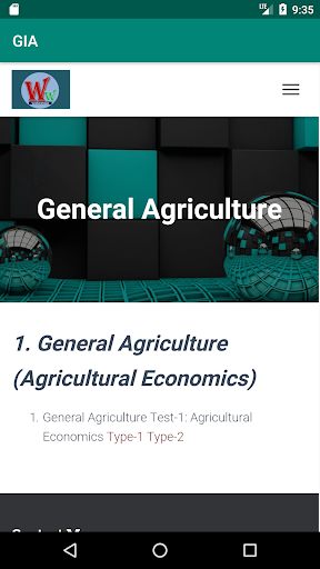 Global Institute of Agriculture  screenshots 5