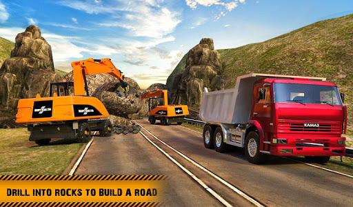 Hill Road Construction Games: Dumper Truck Driving apkdebit screenshots 10