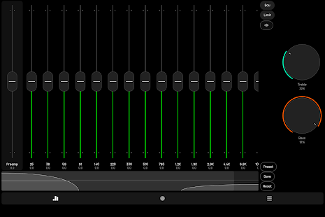 Poweramp Equalizer Screenshot