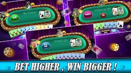 screenshot of Gin rummy free Online card game