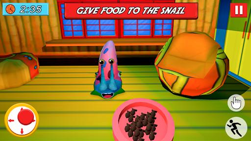 SPONGE FAMILY NEIGHBOR 2: SQUID ESCAPE 3D GAME 2.5 screenshots 2