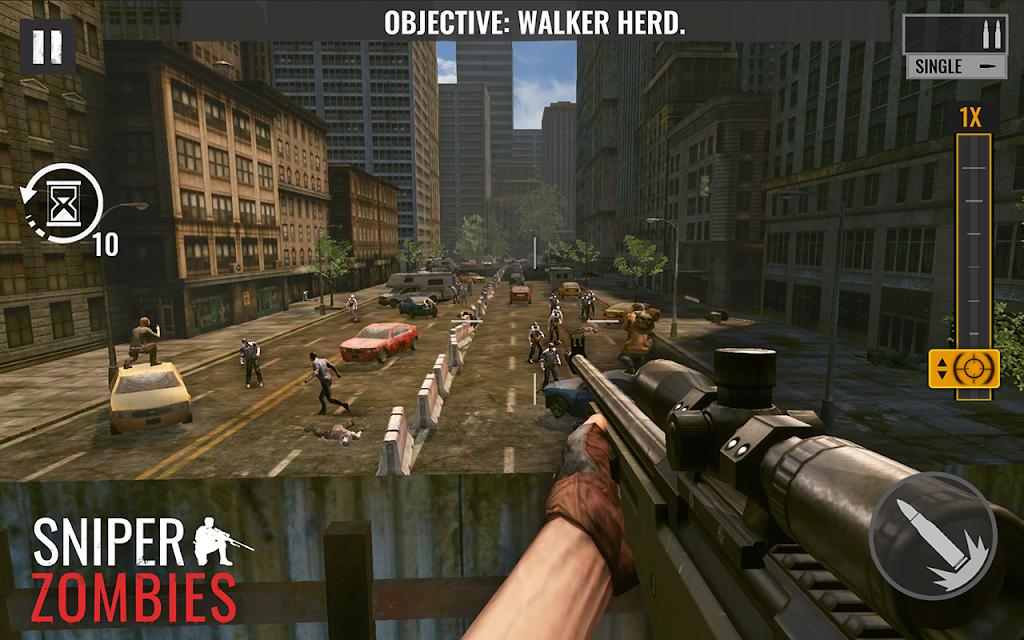 Sniper Zombies: Offline Games 3D  poster 2
