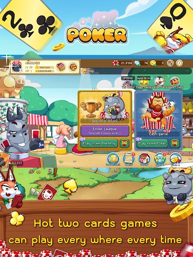 Dummy & Toon Poker Texas slot Online Card Game  Screenshots 12