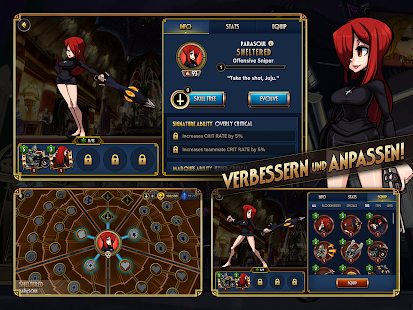 Skullgirls: Kampf + RPG Screenshot