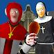 Nun and Monk Neighbor Escape 3D