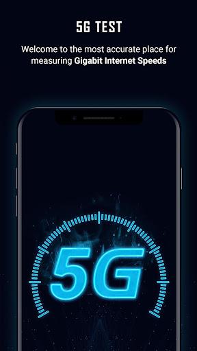 5G Speed Test u2013 Internet Speed Testing Apkfinish screenshots 1
