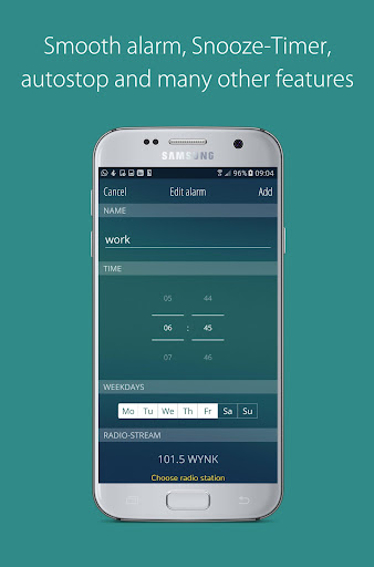 bedr pro alarm clock radio screenshot 3