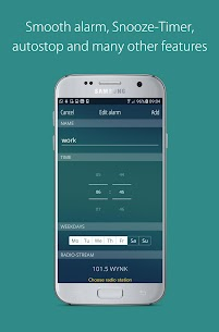 bedr Pro alarm clock radio APK 3