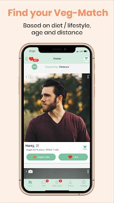Veggly – Vegan and Vegetarian Datingのおすすめ画像2