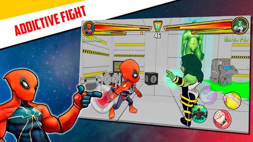 Superheroes League - Free fighting games 2.1 screenshots 12