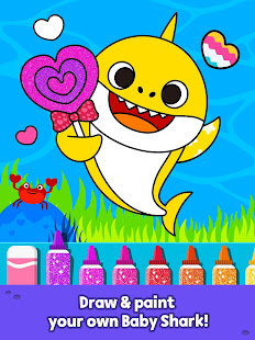 Pinkfong Baby Shark Coloring Book