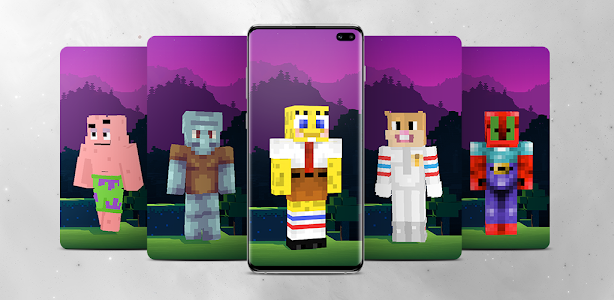 Spongebob Minecraft Skin 1.1