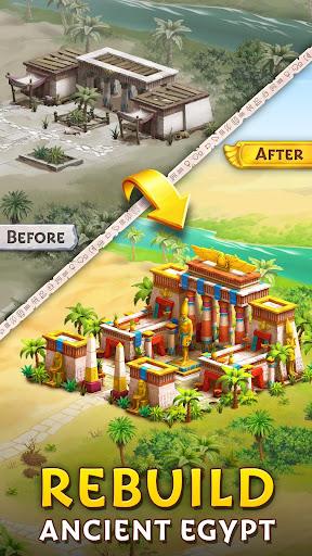 Pyramid of Mahjong: A tile matching city puzzle screenshots 4