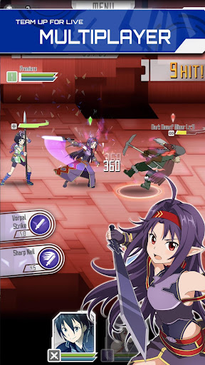 SWORD ART ONLINE;Memory Defrag modavailable screenshots 4