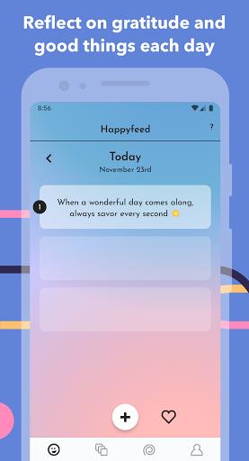 Happyfeed - Gratitude Journal & Daily Mood Diary 2.8.4 screenshots 1