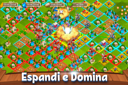Castle Clash: Gilda Reale Apkfinish screenshots 15