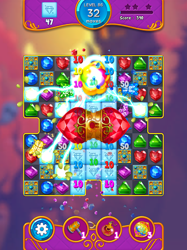 Jewel Witch - Best Funny Three Match Puzzle Game 1.8.2 screenshots 12