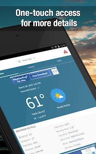 Weather Widget by WeatherBug: Alerts & Forecast