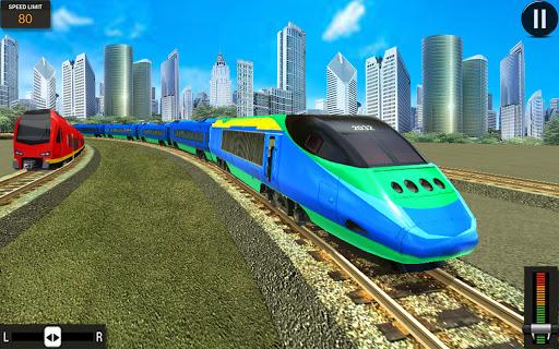 Modern Train Driving Simulator: City Train Games  screenshots 5