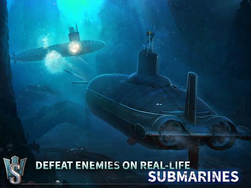 WORLD of SUBMARINES: Navy Warships Battle Wargame Apkfinish screenshots 13
