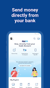 Paytm -UPI, Money Transfer, Recharge, Bill Payment 8.14.5 [MOD APK] Android 1