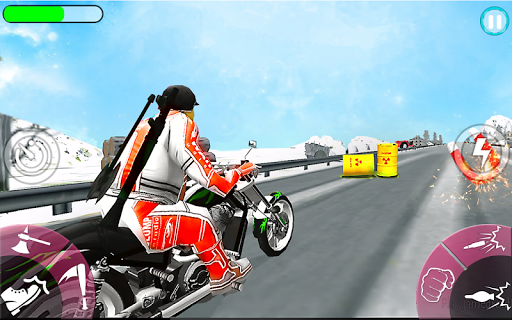 New Bike Attack Race - Bike Tricky Stunt Riding  screenshots 15