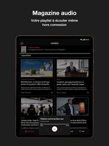 L'Express I Actualités, Infos, France, Monde  screenshots 18