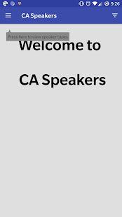 CA Speakers Free