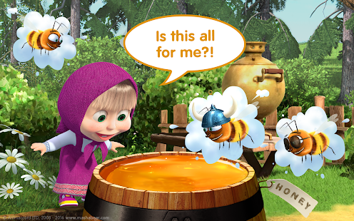 Masha and the Bear Child Games Screenshot