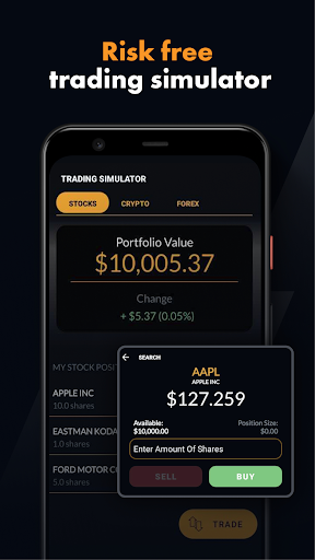 Foto do Finance Home Trade Simulator & Stock News Launcher