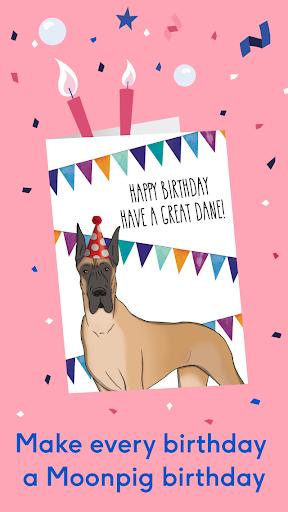 Moonpig: Birthday Card Maker & Gift Shopping App android2mod screenshots 2