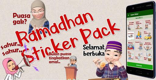 Puasa Ramadhan Stiker 2020 Islami WastickerApps  screenshots 1