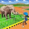 Modern Family Planet Zoo - Animal Park 3D Game 2 game apk icon