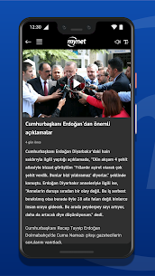 Mynet Haber – Son Dakika Haber Canlı Android Full Apk İndir 3