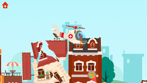 Dinosaur Helicopter - Games for kids  screenshots 2