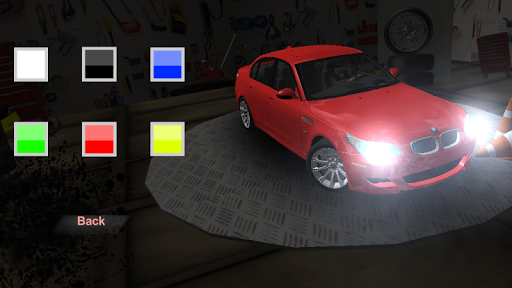 m5 e60 driving simulator screenshot 1