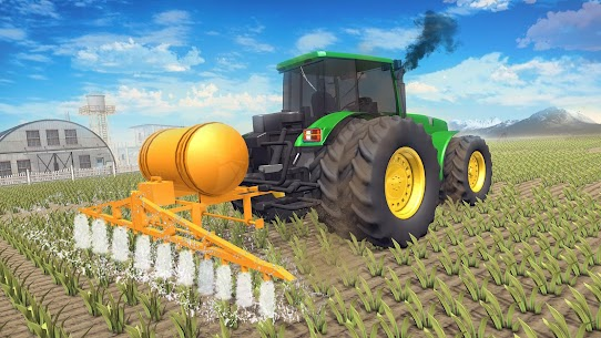 Real Tractor Farming Game 2020 Apk 1