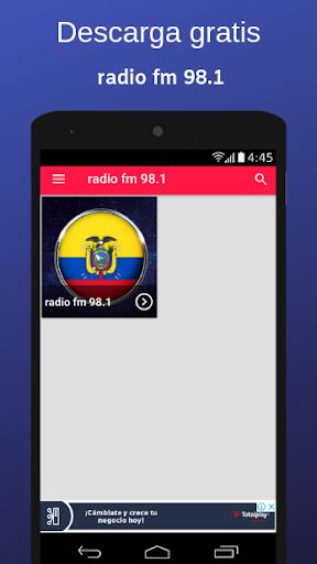radio fm 98.1 screenshot 3