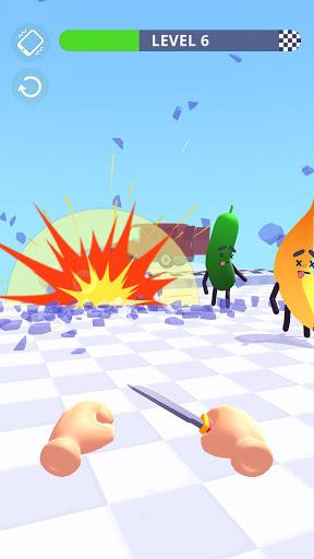 Hit Tomato 3D: Knife Throwing Master screenshots 8