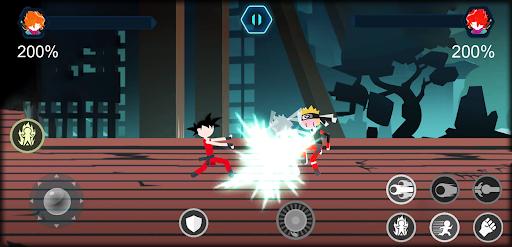 Télécharger Gratuit Stickman battle Shadow - warriors Dragon Legend  APK MOD (Astuce) screenshots 2