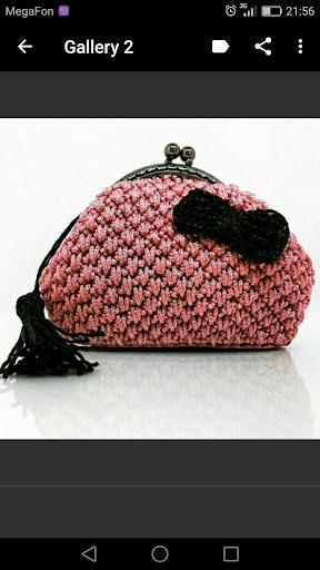 Foto do Crochet Purse
