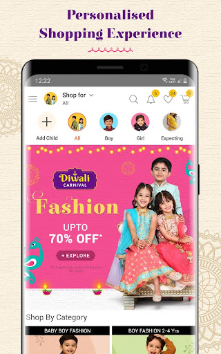 FirstCry India - Baby & Kids Shopping & Parenting 9.9.4 screenshots 2