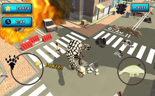 Dinosaur Simulator 2 Dino City  screenshots 4