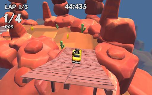 Crazy Cat Rush Racing Run Kitty Craft  screenshots 24