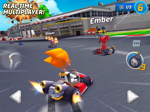 Boom Karts - Multiplayer Kart Racing apkpoly screenshots 7