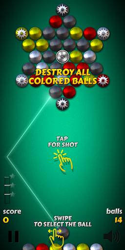Magnet Balls Free: Match-Three Physics Puzzle screenshots 4