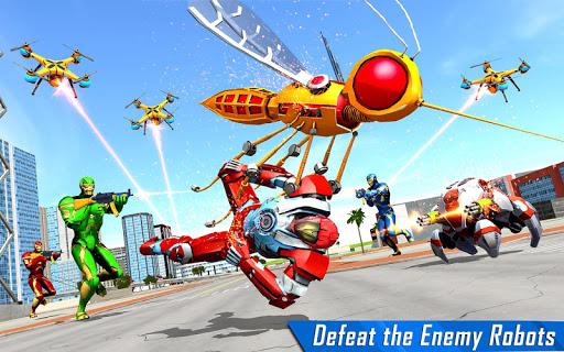Mosquito Robot Car Game - Transforming Robot Games 1.0.8 screenshots 8