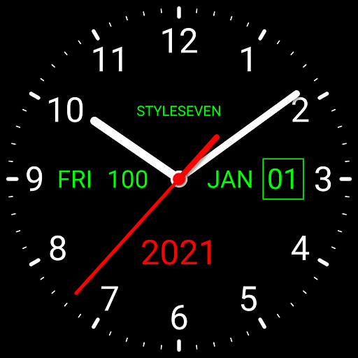 Analog Clock Live Wallpaper 7 Apps On Google Play