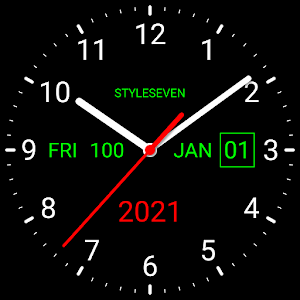 Analog Clock Live Wallpaper7