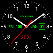 icono Analog Clock Live Wallpaper-7